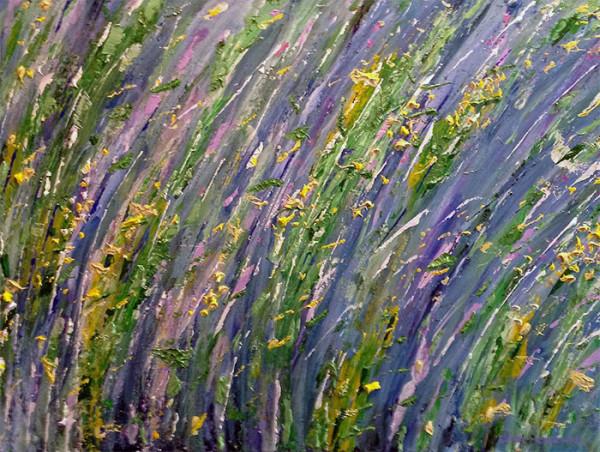 Dennis Wild Flowers One - 18 x 24