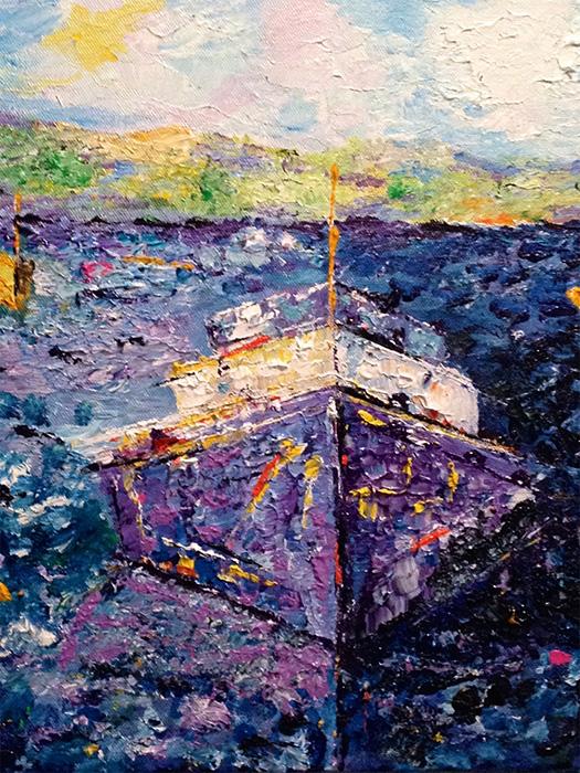 Fishing Boat 3 - 11 x 14