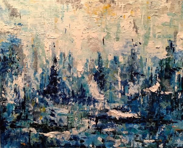 Shimmering Landscape 16x20