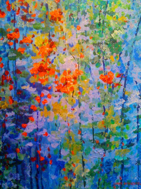 Azure Garden 16x20