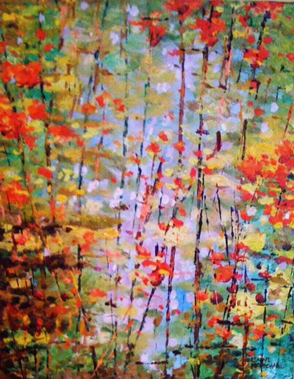 Fall Garden 16x20