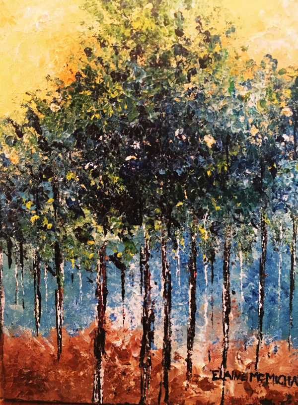 Nature Series Mainely woods two 11x14