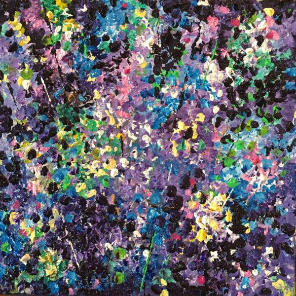 # 18 Blues  & Violets 4x4