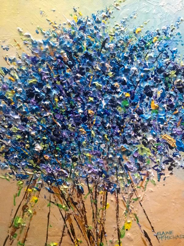 Bluesy Textures 11x14