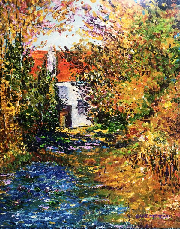 Garden in the Country 16x20