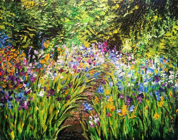 New Beginnings Garden 16x20